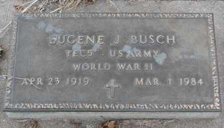 BUSCH, EUGENE J. - Stanton County, Nebraska | EUGENE J. BUSCH - Nebraska Gravestone Photos