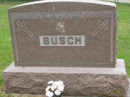 BUSCH, FAMILY STONE - Stanton County, Nebraska | FAMILY STONE BUSCH - Nebraska Gravestone Photos