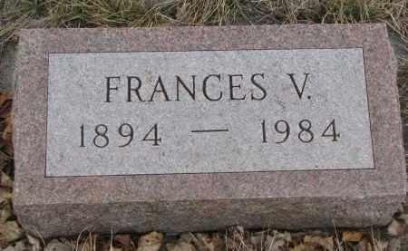 BUSCH, FRANCES V. - Stanton County, Nebraska | FRANCES V. BUSCH - Nebraska Gravestone Photos