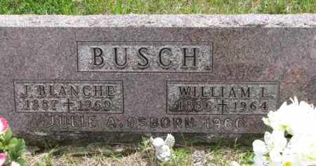 BUSCH, WILLIAM L. - Stanton County, Nebraska | WILLIAM L. BUSCH - Nebraska Gravestone Photos