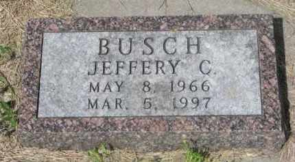 BUSCH, JEFFERY C. - Stanton County, Nebraska | JEFFERY C. BUSCH - Nebraska Gravestone Photos