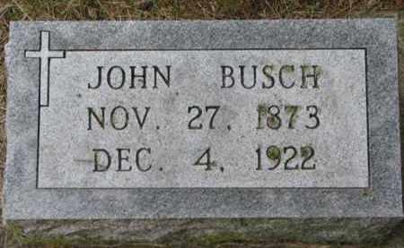 BUSCH, JOHN - Stanton County, Nebraska | JOHN BUSCH - Nebraska Gravestone Photos