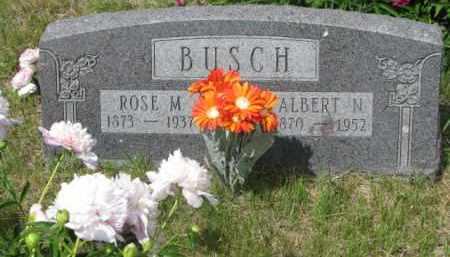 BUSCH, ROSE M. - Stanton County, Nebraska   ROSE M. BUSCH - Nebraska Gravestone Photos