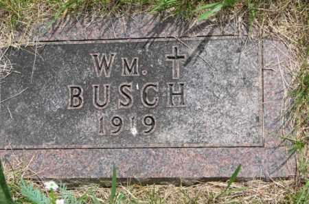 BUSCH, WM. - Stanton County, Nebraska | WM. BUSCH - Nebraska Gravestone Photos