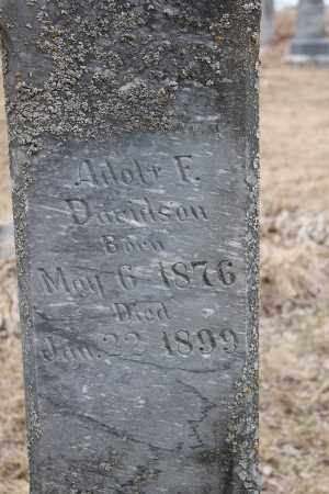 DAVIDSON, ADOLF F - Stanton County, Nebraska | ADOLF F DAVIDSON - Nebraska Gravestone Photos