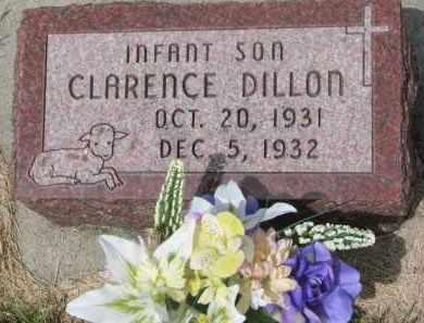 DILLON, CLARENCE - Stanton County, Nebraska | CLARENCE DILLON - Nebraska Gravestone Photos