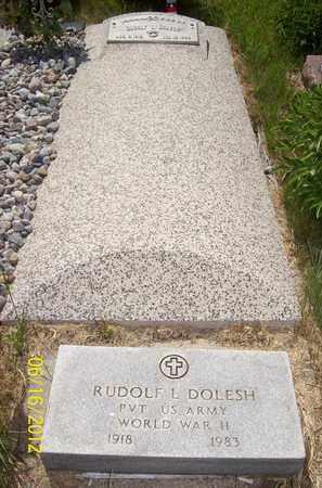DOLESH, RUDOLPH L. - Stanton County, Nebraska   RUDOLPH L. DOLESH - Nebraska Gravestone Photos