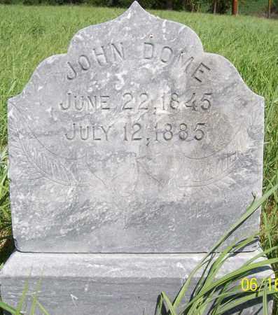 DOME, JOHN - Stanton County, Nebraska | JOHN DOME - Nebraska Gravestone Photos