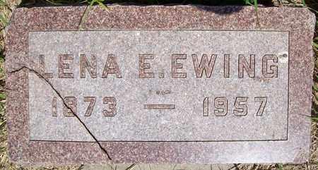 EWING, LENA E. - Stanton County, Nebraska | LENA E. EWING - Nebraska Gravestone Photos