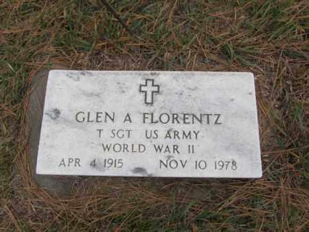FLORENTZ, GLEN A - Stanton County, Nebraska   GLEN A FLORENTZ - Nebraska Gravestone Photos