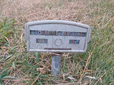 FLORENTZ, LORRAINE - Stanton County, Nebraska   LORRAINE FLORENTZ - Nebraska Gravestone Photos