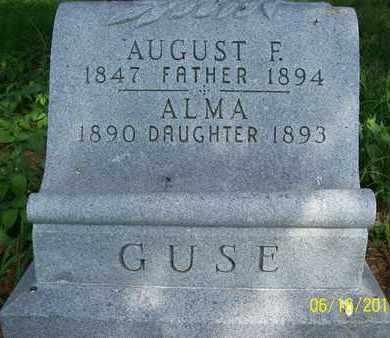 GUSE, AUGUST F. - Stanton County, Nebraska | AUGUST F. GUSE - Nebraska Gravestone Photos