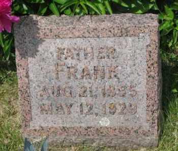 HADER, FRANK - Stanton County, Nebraska | FRANK HADER - Nebraska Gravestone Photos