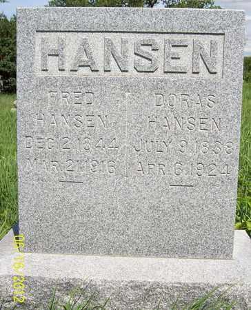 HANSEN, FRED - Stanton County, Nebraska | FRED HANSEN - Nebraska Gravestone Photos