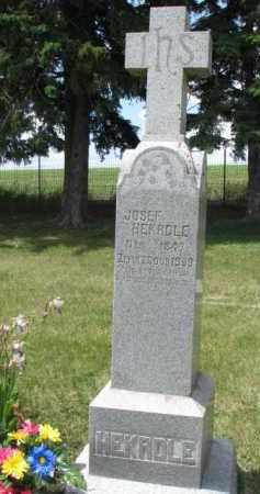 HEKRDLE, JOSEF - Stanton County, Nebraska   JOSEF HEKRDLE - Nebraska Gravestone Photos