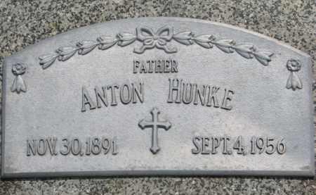 HUNKE, ANTON - Stanton County, Nebraska | ANTON HUNKE - Nebraska Gravestone Photos