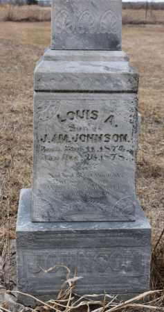 JOHNSON, LOUIS A - Stanton County, Nebraska | LOUIS A JOHNSON - Nebraska Gravestone Photos
