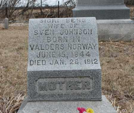 JOHNSON, SIGRI - Stanton County, Nebraska   SIGRI JOHNSON - Nebraska Gravestone Photos