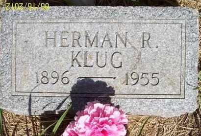 KLUG, HERMAN R. - Stanton County, Nebraska   HERMAN R. KLUG - Nebraska Gravestone Photos