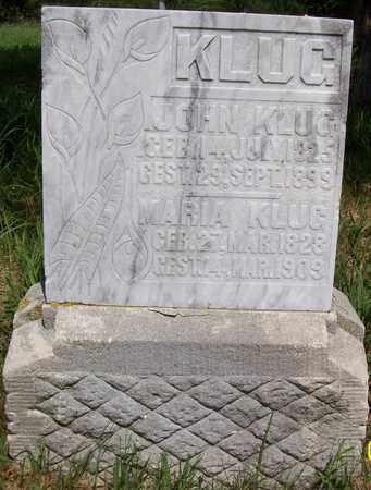KLUG, JOHN - Stanton County, Nebraska | JOHN KLUG - Nebraska Gravestone Photos