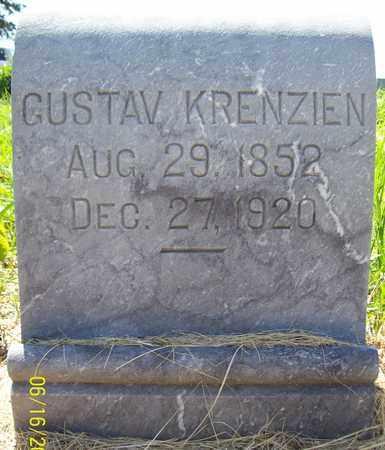 KRENZIEN, GUSTAV - Stanton County, Nebraska | GUSTAV KRENZIEN - Nebraska Gravestone Photos