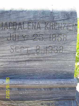 KRENZIEN, MAGDALENA - Stanton County, Nebraska | MAGDALENA KRENZIEN - Nebraska Gravestone Photos