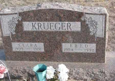 KRUEGER, CLARA - Stanton County, Nebraska   CLARA KRUEGER - Nebraska Gravestone Photos