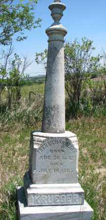 KRUEGER, FREDRICH - Stanton County, Nebraska | FREDRICH KRUEGER - Nebraska Gravestone Photos