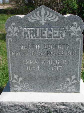 KRUEGER, EMMA - Stanton County, Nebraska | EMMA KRUEGER - Nebraska Gravestone Photos