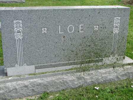 LOE, FAMILY STONE - Stanton County, Nebraska | FAMILY STONE LOE - Nebraska Gravestone Photos