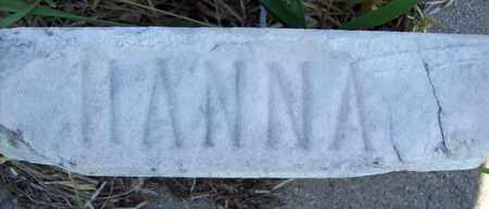 MASKENTHINE, HANNA - Stanton County, Nebraska | HANNA MASKENTHINE - Nebraska Gravestone Photos