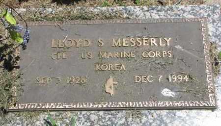 MESSERLY, LLOYD S. - Stanton County, Nebraska | LLOYD S. MESSERLY - Nebraska Gravestone Photos