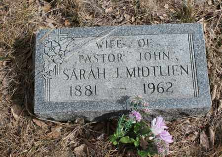 MIDTLIEN, SARAH J - Stanton County, Nebraska | SARAH J MIDTLIEN - Nebraska Gravestone Photos
