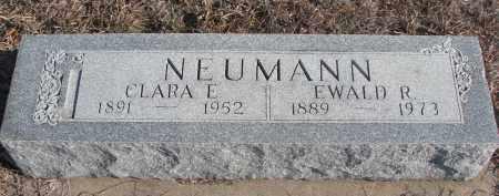 NEUMANN, CLARA E. - Stanton County, Nebraska | CLARA E. NEUMANN - Nebraska Gravestone Photos