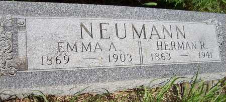 NEUMANN, EMMA A. - Stanton County, Nebraska | EMMA A. NEUMANN - Nebraska Gravestone Photos