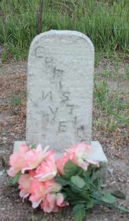NYE, CHRISTINE - Stanton County, Nebraska | CHRISTINE NYE - Nebraska Gravestone Photos