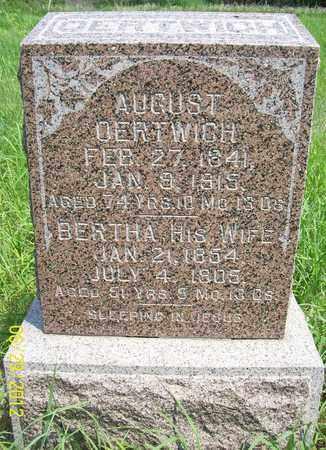 OERTWICH, BERTHA - Stanton County, Nebraska   BERTHA OERTWICH - Nebraska Gravestone Photos