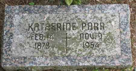 PARR, KATHERINE - Stanton County, Nebraska   KATHERINE PARR - Nebraska Gravestone Photos