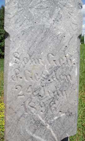 PATSCHKE, BABY SON - Stanton County, Nebraska | BABY SON PATSCHKE - Nebraska Gravestone Photos
