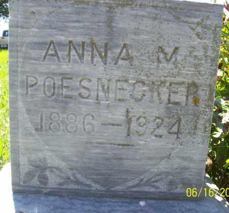 POESNECKER, ANNA M. - Stanton County, Nebraska   ANNA M. POESNECKER - Nebraska Gravestone Photos