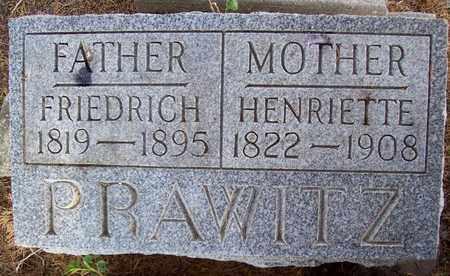 PRAWITZ, HENRIETTE - Stanton County, Nebraska | HENRIETTE PRAWITZ - Nebraska Gravestone Photos