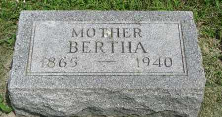 RAABE, BERTHA - Stanton County, Nebraska | BERTHA RAABE - Nebraska Gravestone Photos