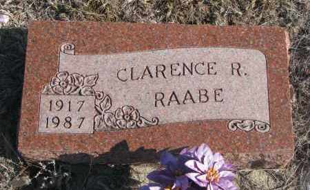 RAABE, CLARENCE R. - Stanton County, Nebraska   CLARENCE R. RAABE - Nebraska Gravestone Photos