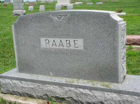RAABE, FAMILY STONE - Stanton County, Nebraska   FAMILY STONE RAABE - Nebraska Gravestone Photos