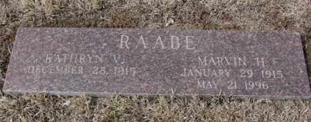 RAABE, MARVIN H. - Stanton County, Nebraska | MARVIN H. RAABE - Nebraska Gravestone Photos