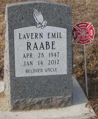 RAABE, LAVERN EMIL - Stanton County, Nebraska | LAVERN EMIL RAABE - Nebraska Gravestone Photos