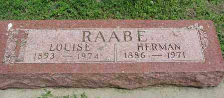 RAABE, HERMAN - Stanton County, Nebraska | HERMAN RAABE - Nebraska Gravestone Photos