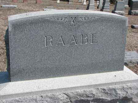 RAABE, PLOT STONE - Stanton County, Nebraska | PLOT STONE RAABE - Nebraska Gravestone Photos