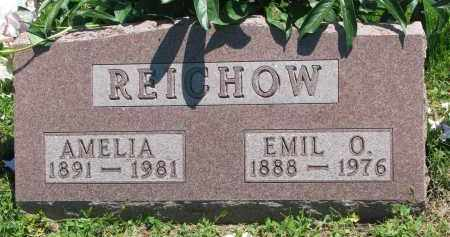REICHOW, EMIL O. - Stanton County, Nebraska | EMIL O. REICHOW - Nebraska Gravestone Photos