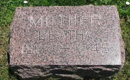 REICHOW, BERTHA - Stanton County, Nebraska | BERTHA REICHOW - Nebraska Gravestone Photos